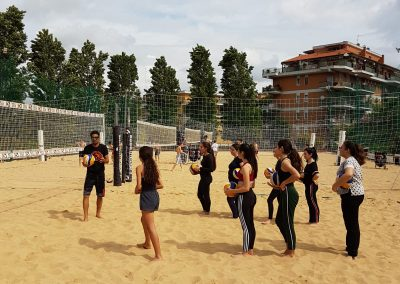Beach volley al Club Monteverde