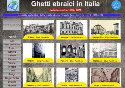 Ghetti ebraici in Italia