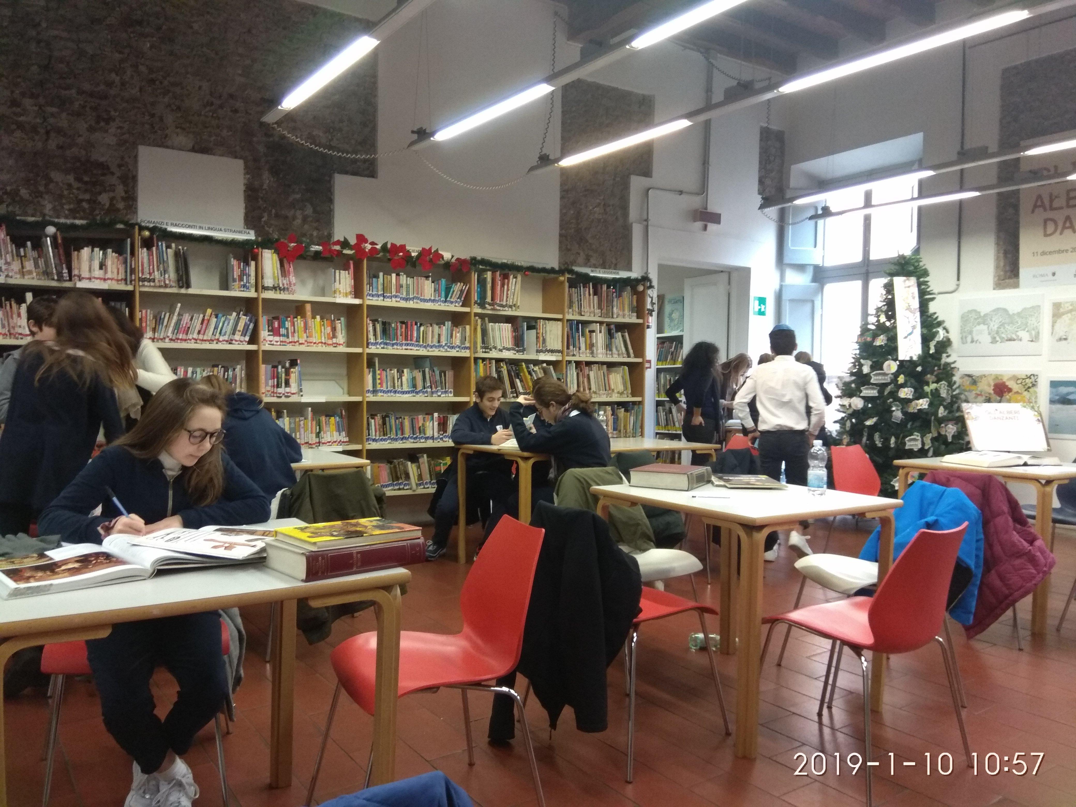 Ricerca in Biblioteca