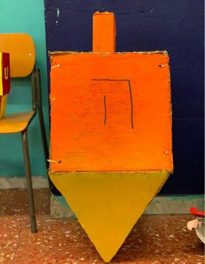 Dreidel arancione
