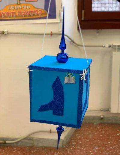 Dreidel blu